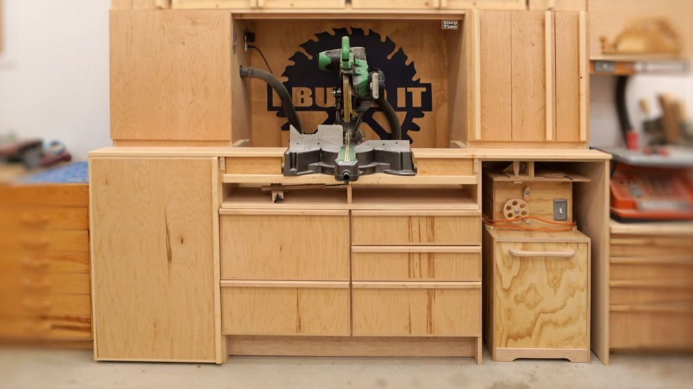 Miter Saw Station Plans Ibuildit Ca
