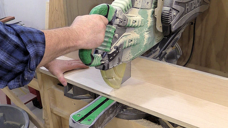 Zero Clearance Miter Saw Fence Ibuildit Ca