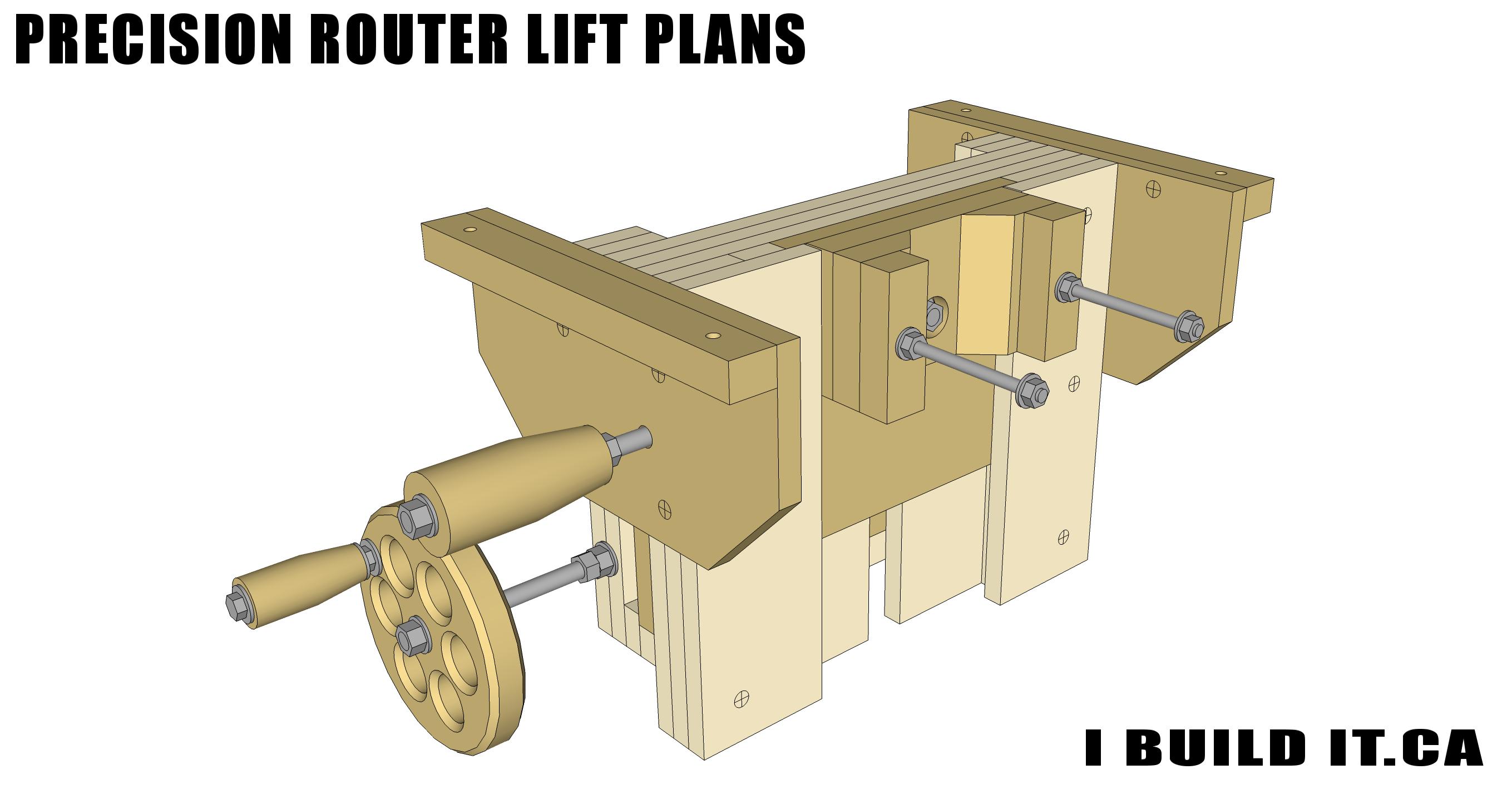 Precision Router Lift Plans Plans Ibuildit Ca