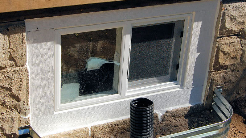 Replacing the Basement Windows - My Old House - IBUILDIT.CA