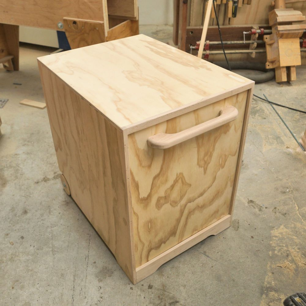 Making A Router Table Stand - IBUILDIT.CA