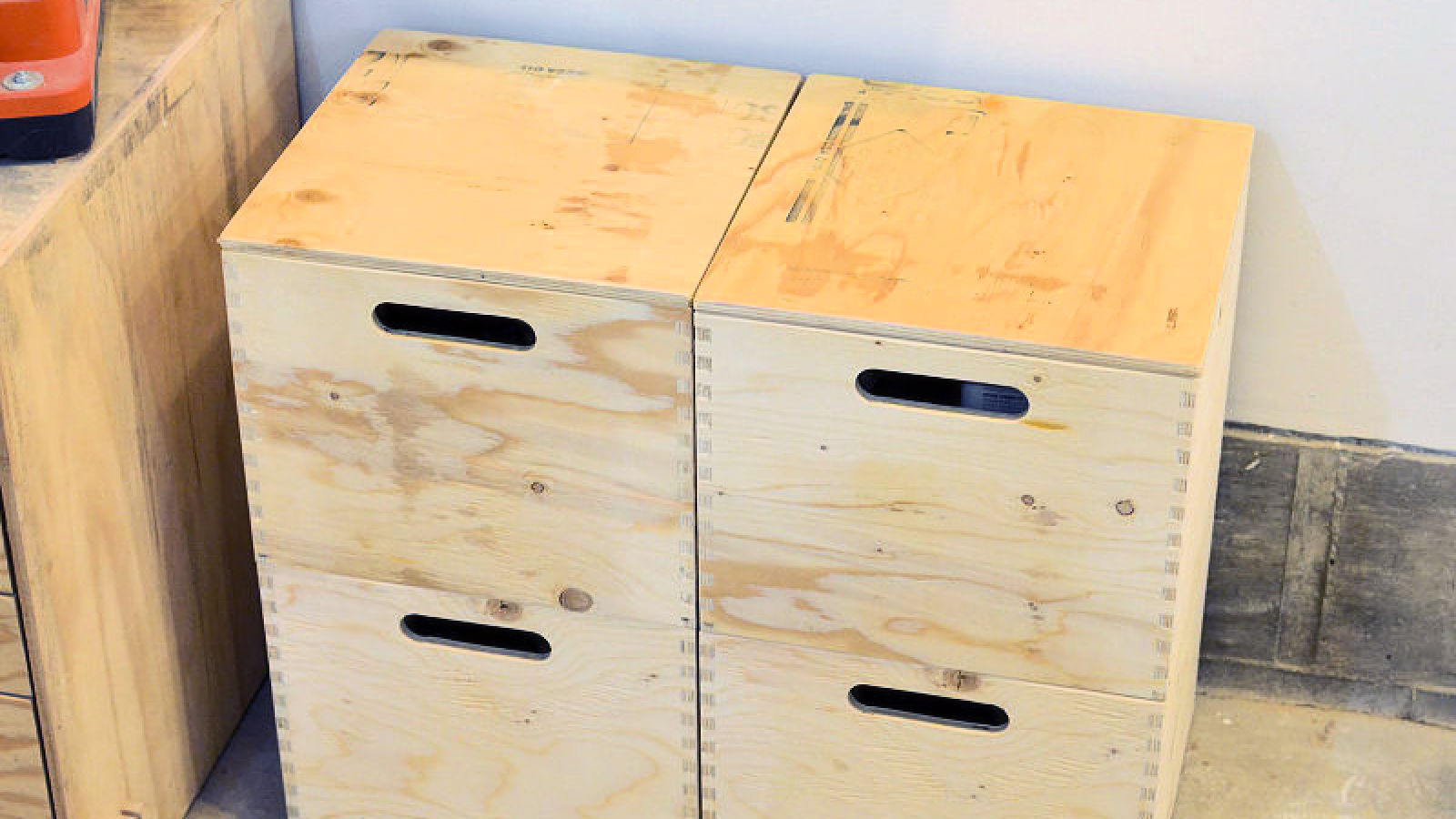 Making Stackable Plywood Storage Boxes