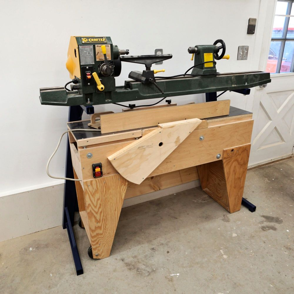 Making A Steel Stand For My Wood Lathe - IBUILDIT CA