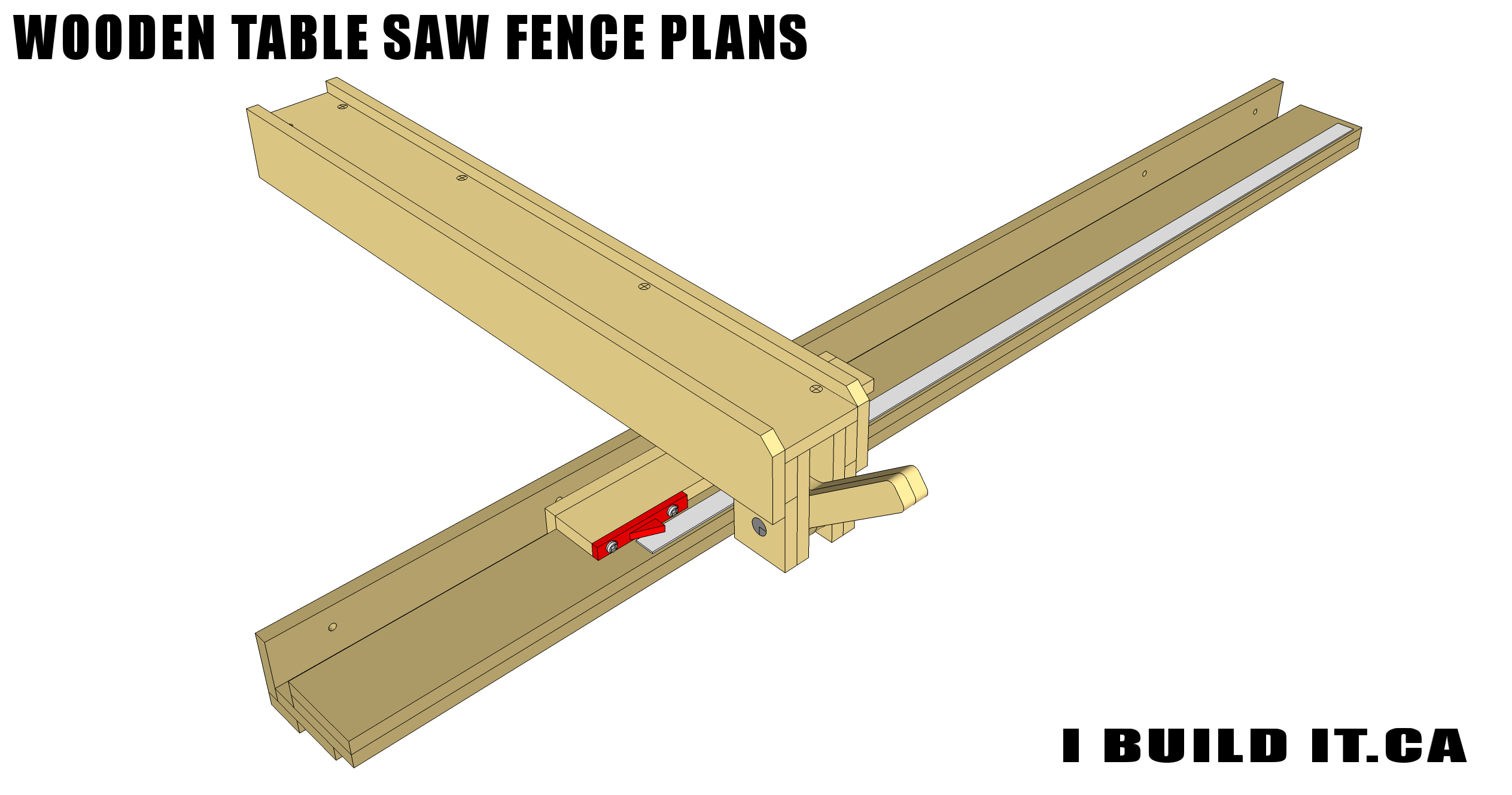 Wooden Table Saw Fence Plans Plans Ibuildit Ca