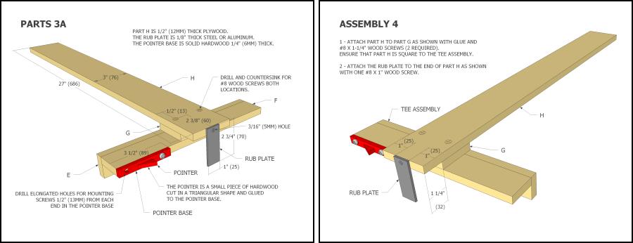 Wooden Table Saw Fence Plans Plans Ibuildit Ca