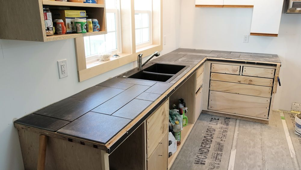 countertops diydiva how over cement to tile countertop build attractive counters