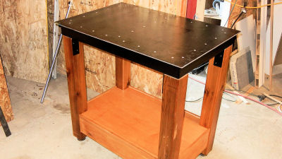Weldingtablesmall IBUILDITCA - Small metal work table