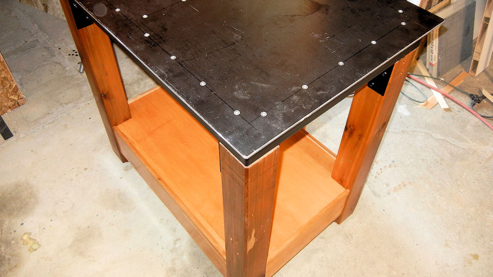Making A Steel Table Ibuildit Ca