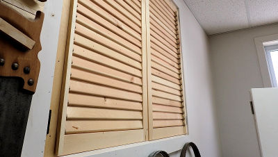 How To Make Wooden Shutters IBUILDITCA