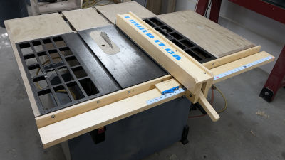 Making A Wooden Table Saw Fence